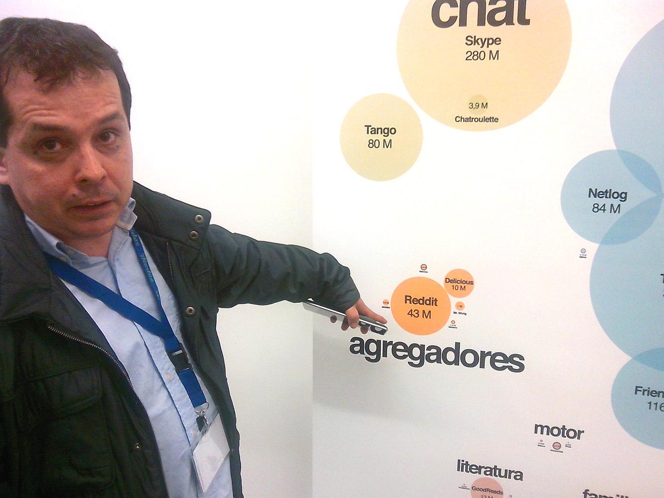 """Ricardo Galli: """"En las redes no se da un debate reflexivo, racional y duro como debe ser, donde haya disenso"""""""