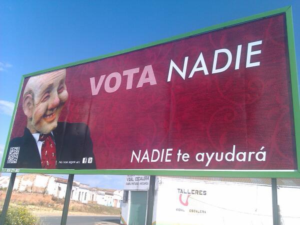 vota NADIE